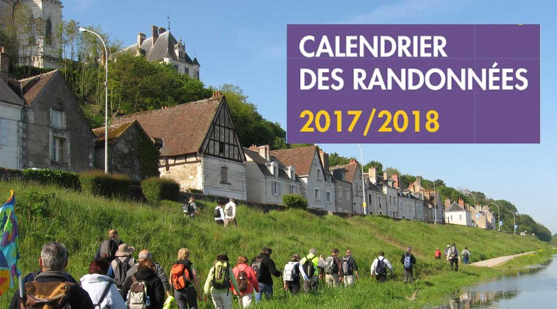 NOUVEAU : Télécharger le Calendrier des randonnées organisées 2017-2018