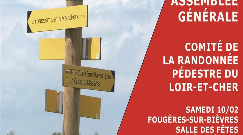 Assemblée Générale du Comité Départemental du Loir-et-Cher