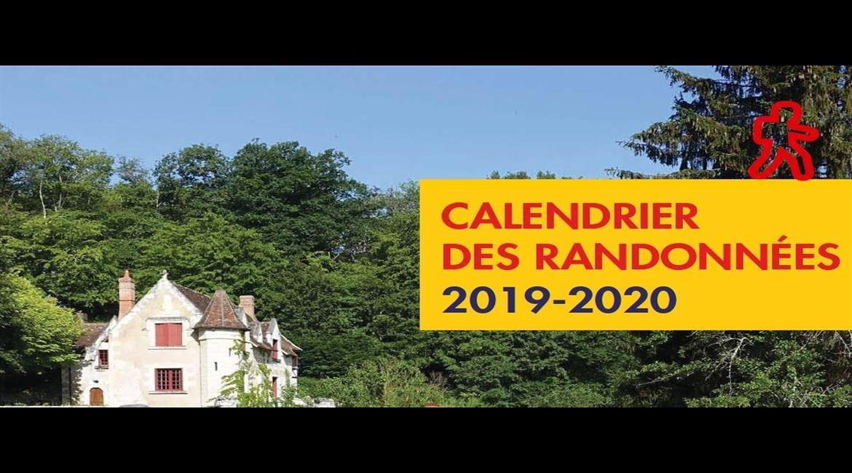 Calendrier des randonnées 2019 - 2020